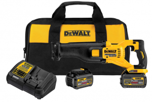 DEWALT FLEXVOLT 60V - Best Battery Run Time Sawzall