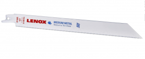 LENOX Bi-metal saw blade with Power Blast Technology