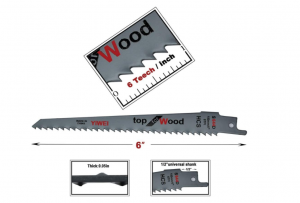 Toolman S644D - Best Smooth Metal Cutting Sawzall Blades